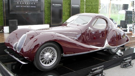 World's 'most exceptional' classic car crowned at Pebble Beach 2016