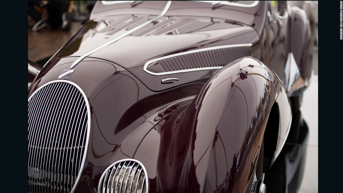 "A French 1937 Talbot-Lago T150-C SS ""Goutte d'Eau"" won the inaugural The Peninsula Classics Best of the Best Award at Pebble Beach 2016."