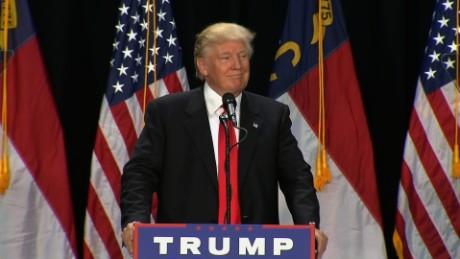 Donald Trump Charlotte rally