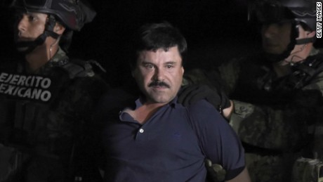 Search for El Chapo (Photo credit: AFP/Getty Images)
