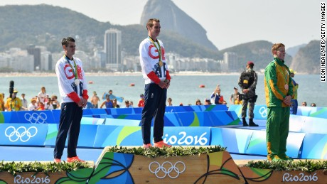 The pair made history with their medal-winning performance.