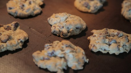 The Clinton family's oatmeal chocolate chip cookies
