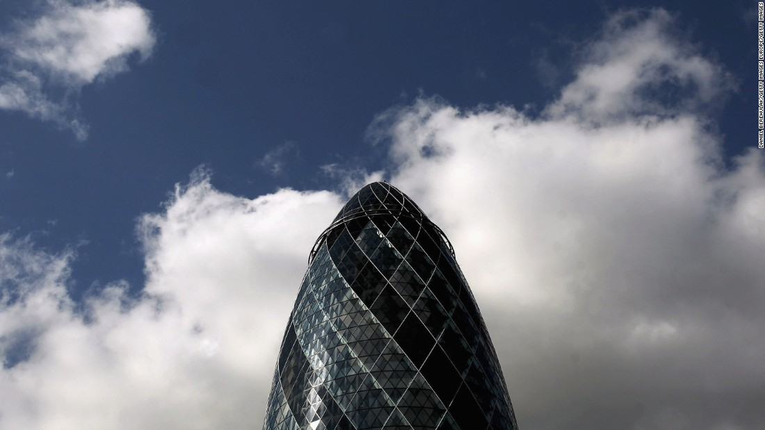 The Cluster is home to buildings such as 30 St Mary's Axe, nicknamed the Gherkin, which was initially ridiculed by Londoners but has since become a quirky staple of the city's skyline.