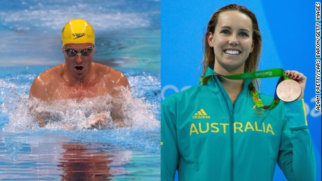 Australian swimmers Josh Palmer and Emma McKeon are now under curfew.