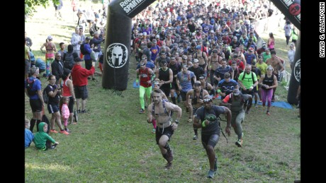 The Spartan Race army is at the gates