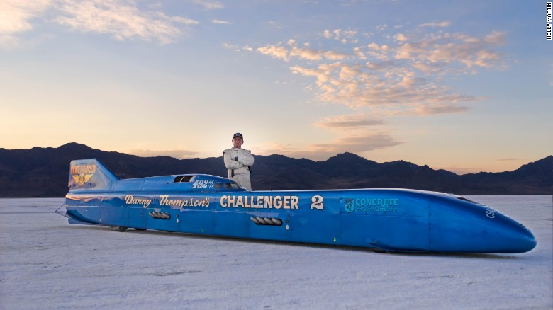 He risked everything to go 400 mph