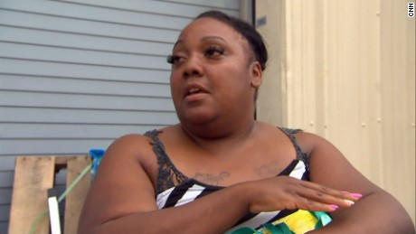 Sheneka Ealy worries if she'll have a home for her family.