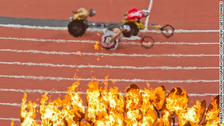 Paralympic ticket sales were hot in London in 2012. But demand has cooled in 2016.