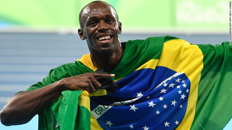 Usain Bolt and Jamaica win 4x100 relay gold