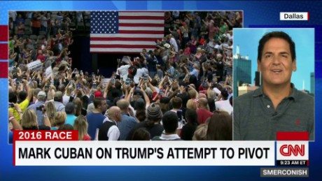 Mark Cuban on Trump's attempt to pivot