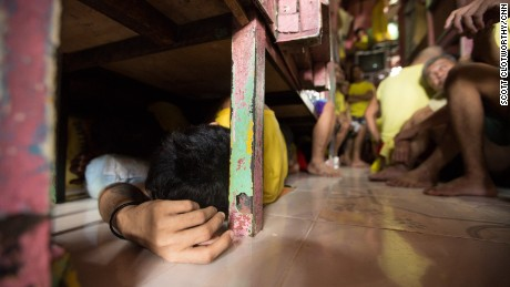 Life inside the Philippines' most overcrowded jail