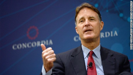Former United States Senator, Evan Bayh, speaks onstage at the 2014 Concordia Summit - Day 1 at Grand Hyatt New York on September 29, 2014 in New York City.