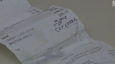 Couple leave hateful message to waitress PKG_00001803.jpg