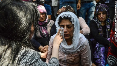 Turkish wedding blast: 22 of 54 dead were under 14