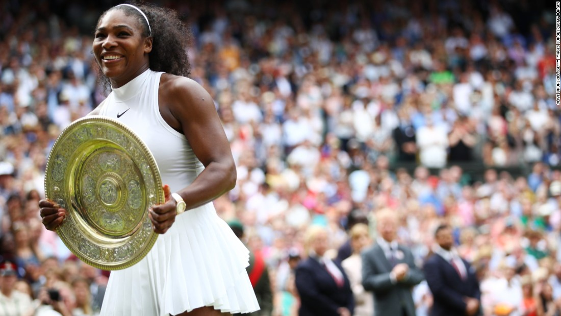 Serena Williams is currently tied on 22 grand slam wins with Steffi Graf -- a joint-Open era record -- but can move ahead of the German with victory at this year's US Open.