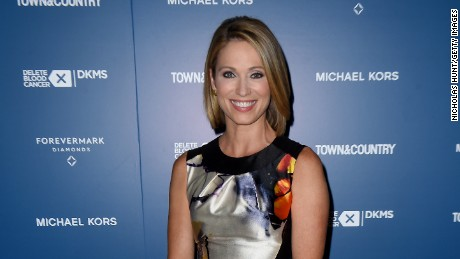 NEW YORK, NY - MAY 10:  Good Morning America host Amy Robach attends Town & Country Philanthropy Summit at New York Historical Society on May 10, 2016 in New York City.  (Photo by Nicholas Hunt/Getty Images for Town & Country)