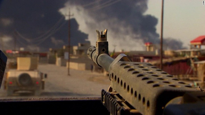 iraq mosul battle build up damon pkg_00001810