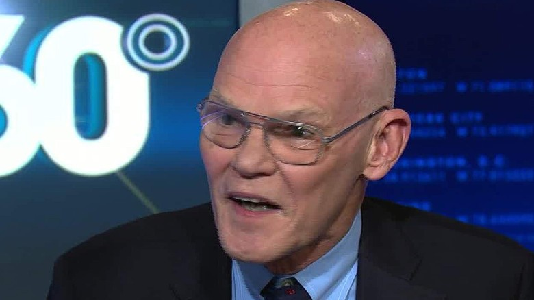 james carville defends clinton foundation intv ac_00002001