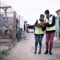Red Cross volunteers South Africa