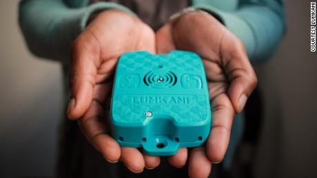 Lumkani: The little blue box that can save lives in slums