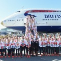 Team GB descending from plane olympics rio 2016 arrival