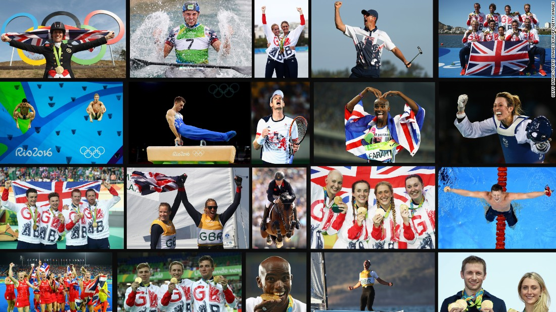 Most thought Great Britain would never surpass the highs of London 2012 where they won a total of 65 medals but, having finished above Olympic heavyweight China in the medal table, Rio was officially its best finish since 1908 Olympics held in London.