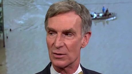 Bill Nye: Climate change is reason for Louisiana floods