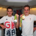 Brownlee brothers team gb rio 2016 arrival