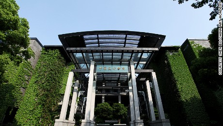China Art Academy was co-designed by Wang Shu, China's first Pritzker Architecture Prize winner.