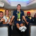 Rio 2016 Olympics homecoming Team GB arrival