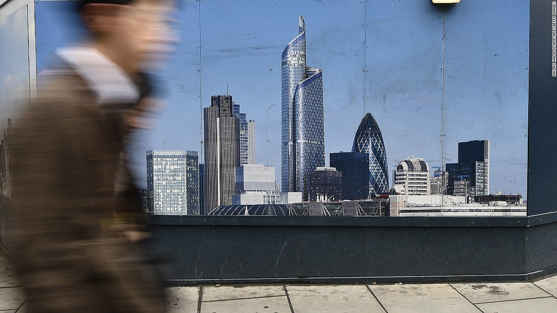 Londoners are now complaining that proposed super-tall building 22 Bishopsgate -- the construction site of which is seen here -- would block views of the Gherkin, towering over its neighbors' 180m at 262m.