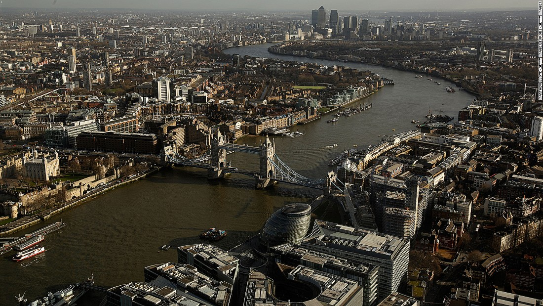 "London's skyscrapers compete with iconic buildings such as Tower Bridge in the most beloved building polls. ""Buildings gain importance and lose importance,"" says Annie Hampson, current City of London planning officer, ""One has to accept that views do change""."