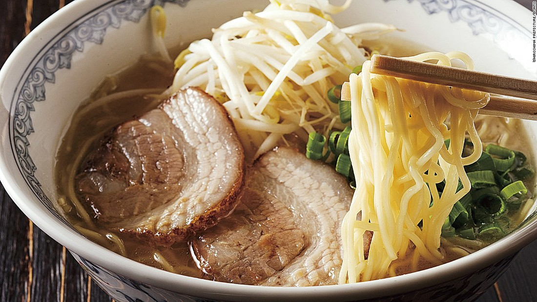 Japanese ramen comes in different flavors in different regions. There are four main styles -- shoyu, shio, tonkotsu and miso.