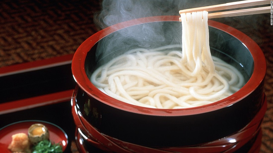 What makes Sanuki udon special is its chewy and silky texture. Slick, slurpable, and immensely satisfying, Sanuki udon noodles offers the firm bite of al dente pasta and the pliant density of mochi rice cakes.