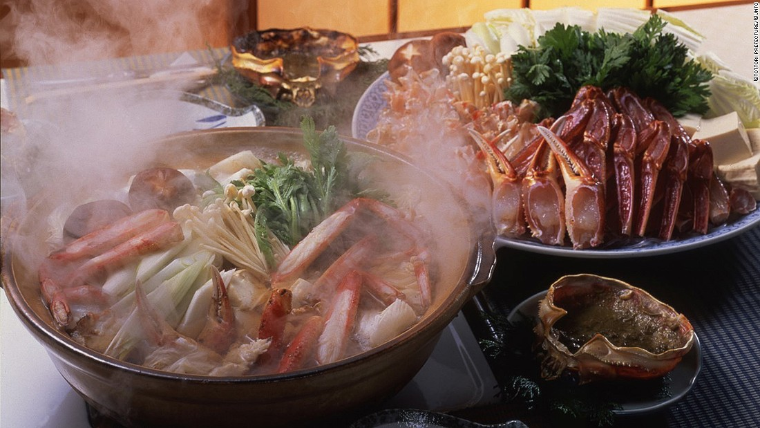 The best way to warm up in winter in Japan: sharing a nabe (hot pot) night with family and friends.
