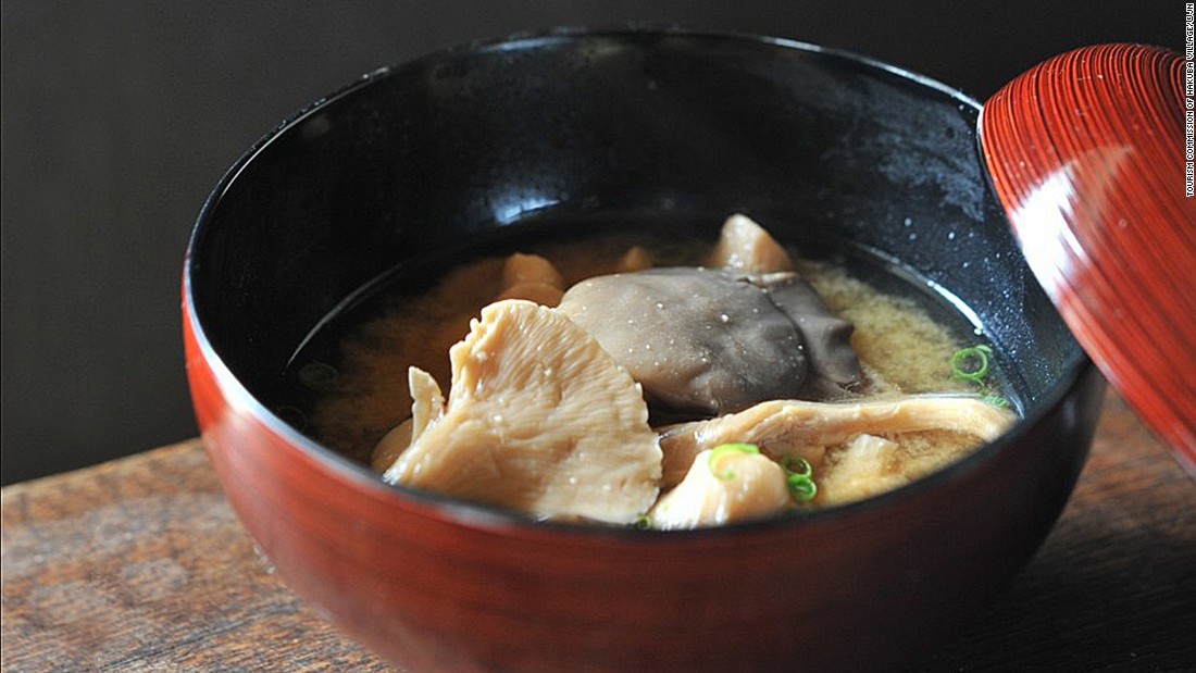 Japanese cuisine wouldn't be the same without miso. The salty fermented bean paste forms the base of this popular Japanese soup.