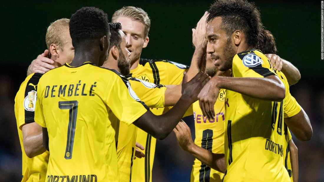 Back in the competition after spending last year in the Europa League, Dortmund will be one of the teams to fear. Its style of fast, free-flowing football has been one of the most exciting on the continent over the past year and, led by the likes of Marco Reus and top scorer Pierre-Emerick Aubameyang, it could reach the knockout stages.