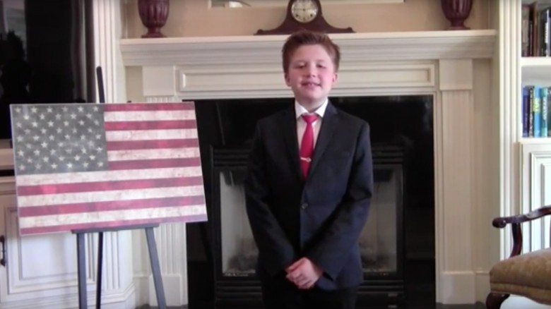 This 10-year-old memorized the Constitution