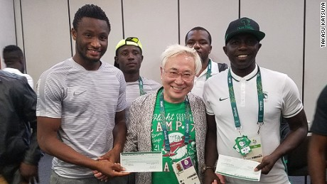 Japanese surgeon says Nigeria football team would have received $390K reward even if they lost