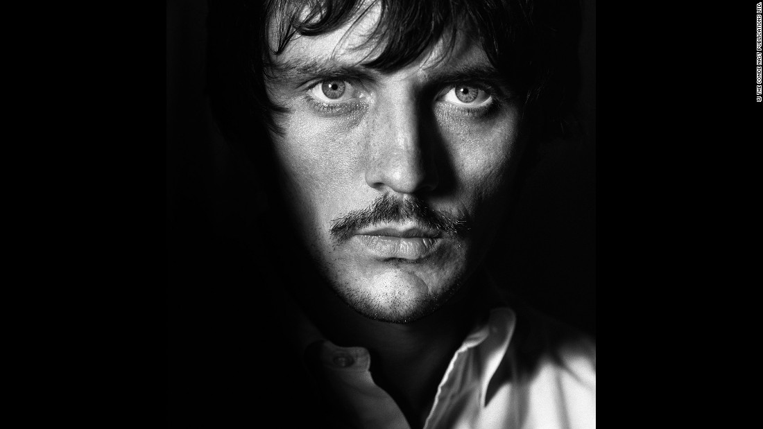 Actor Terence Stamp in British Vogue in July 1967.