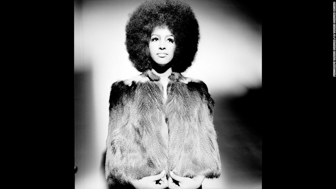 Marsha Hunt, a singer and novelist, in December 1968.