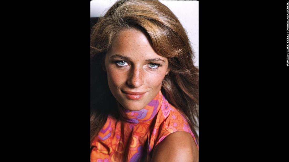 Actress Charlotte Rampling, circa 1968.