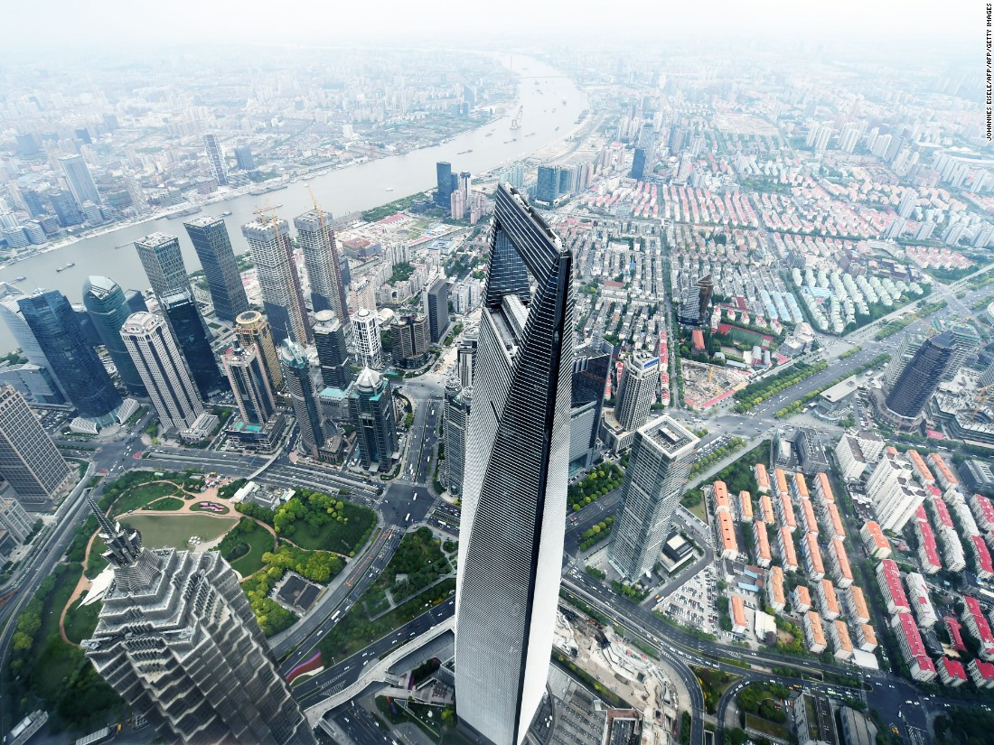 Topping CTBUH's list in terms of height is Shanghai Tower, which twirls 632 meters (2,073 feet) into the sky.