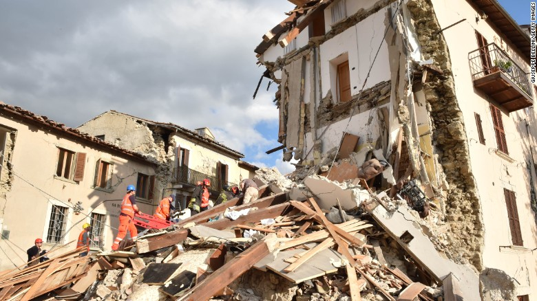 Witnesses recount horrors of Italy's deadly quake