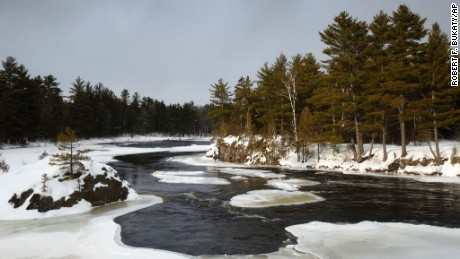 Maine's Penobscot River flows near land that's part of the newest national monument.