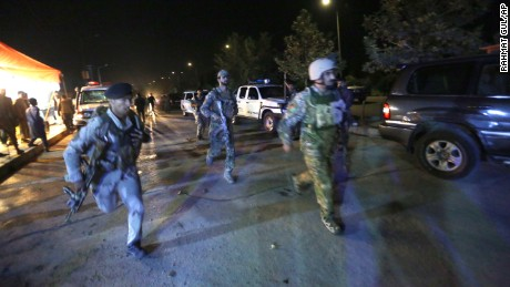 Kabul siege: 12 killed in attack on American University