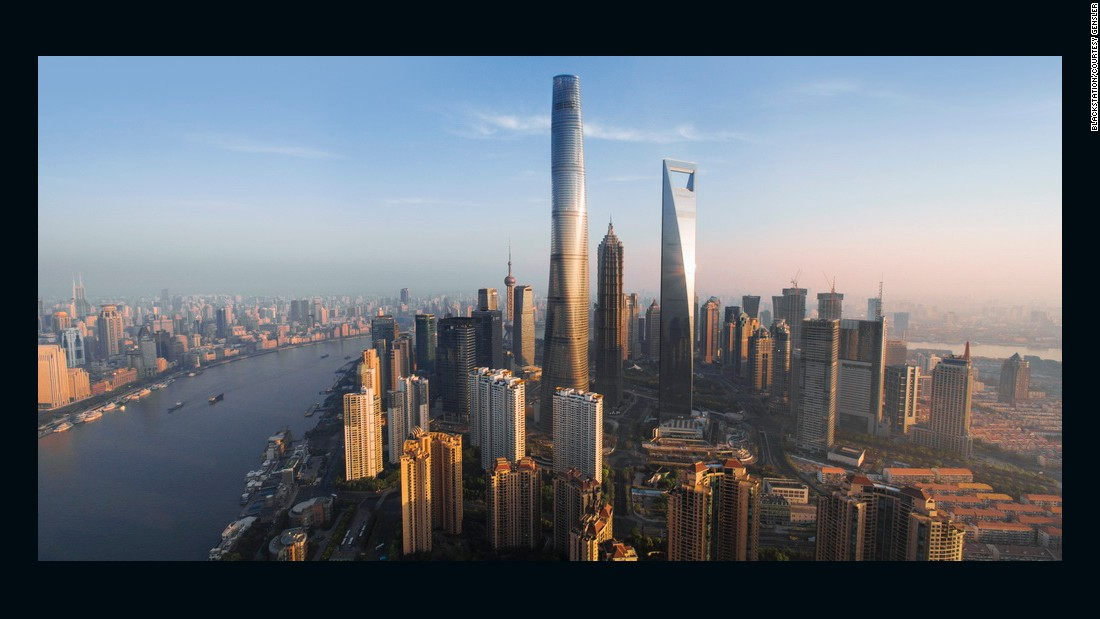 Standing at 2,074 feet (632 meters) tall, the Shanghai Tower is the world's second tallest building.