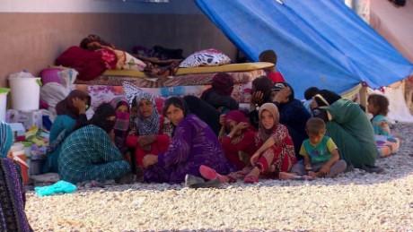 iraq mosul refugee exodus damon pkg 3_00025426