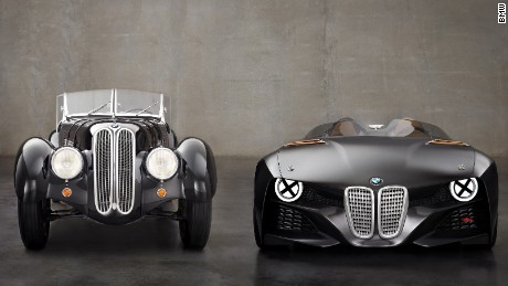 German brands are keen to play on their heritage, and BMW has created a string of 'Hommage' concepts that do little more than reference some of its most famous old models. This is the 328 Hommage, a 2011 tribute that marked the 75th anniversary of the original car.