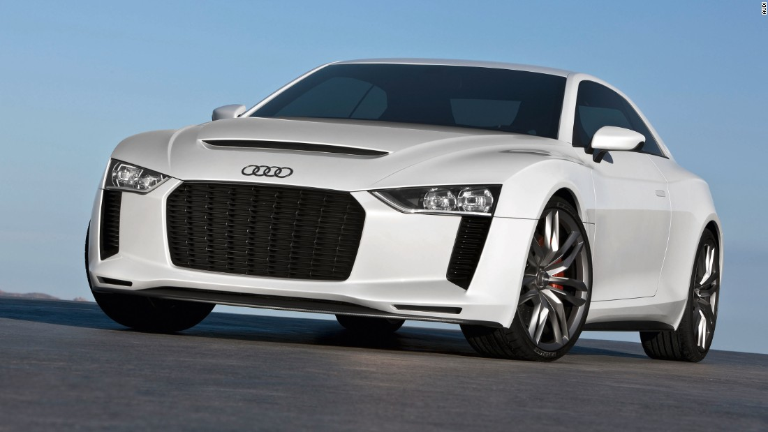The quattro concept acted as a reminder of Audi's motorsport heritage; it was rumoured to be planned for production, but since it appeared more than five years ago, its moment would seem to have passed.
